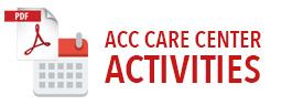 Calendar Icon - Care Center Activities